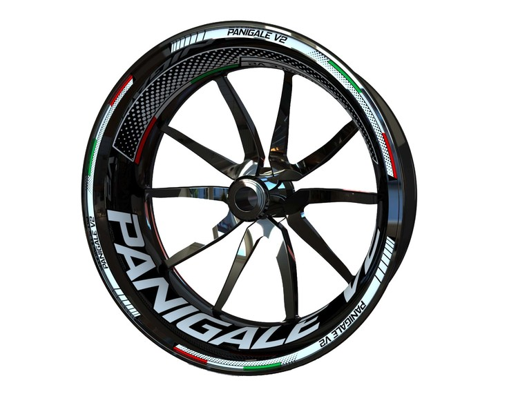 Ducati Panigale V2 Wheel Stickers Plus