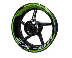Kawasaki ZX-9R Wheel Stickers kit - Standard Design