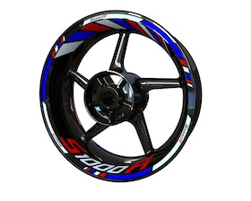 BMW S1000R Wheel Stickers Standard (Front & Rear - Both Sides Included)