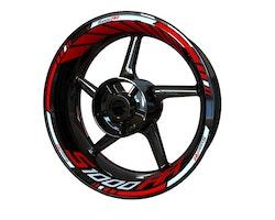 BMW S1000RR Wheel Stickers kit - Standard Design