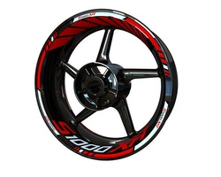 BMW S1000XR Wheel Stickers kit - Standard Design