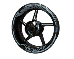BMW F900R Wheel Stickers kit - Standard Design