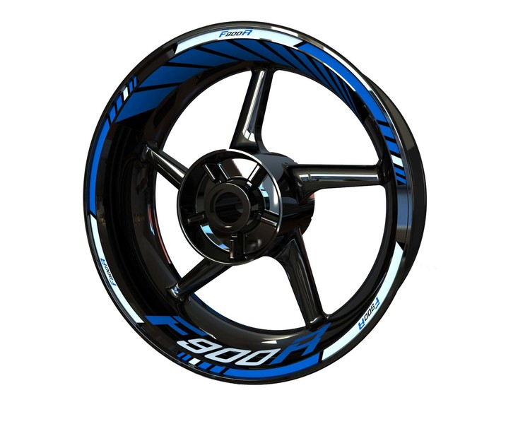 BMW F900R Wheel Stickers Standard (Front & Rear - Both Sides Included)