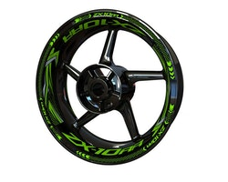 Kawasaki ZX-10RR Wheel Stickers kit - Plus Design