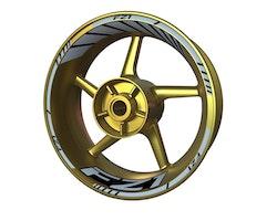 Yamaha FZ1 Wheel Stickers kit - Standard Design