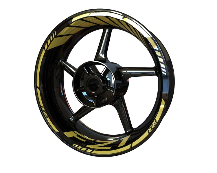 Yamaha FZ1 Wheel Stickers Standard (Front & Rear - Both Sides Included)