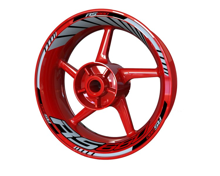 Aprilia RS660 Wheel Stickers Standard (Front & Rear - Both Sides Included)