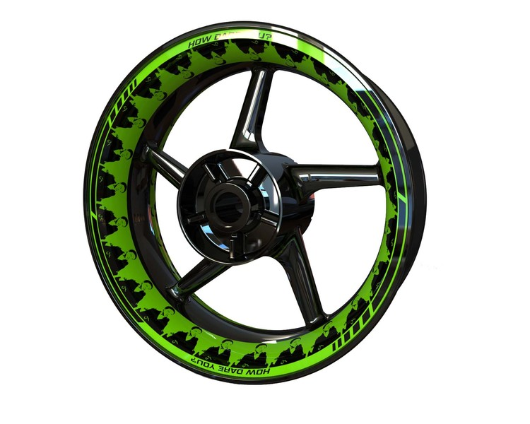 Greta Wheel Graphics Premium (Front & Rear - Both Sides Included)