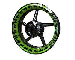 Greta Wheel Stickers kit - Premium Design