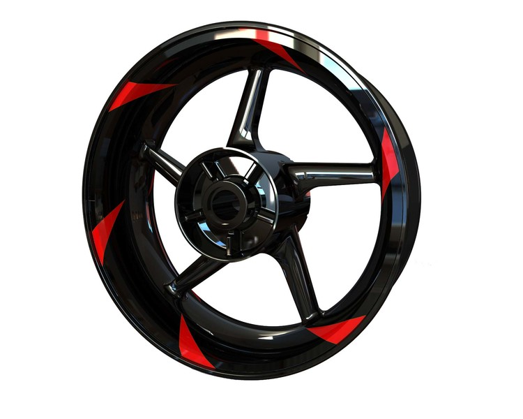 Blades Wheel Graphics Premium (Front & Rear - Both Sides Included)