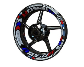 BMW R1250R Wheel Stickers Plus (Front & Rear - Both Sides Included)