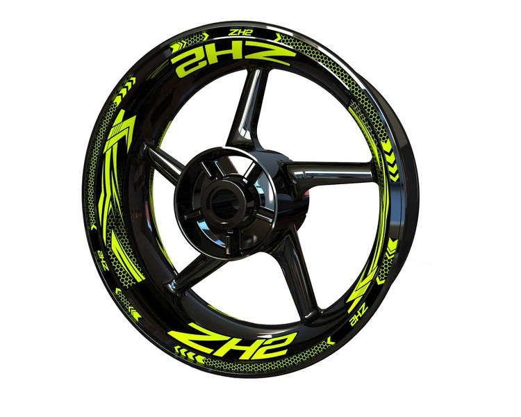ZH2 Wheel Stickers Plus (Front & Rear - Both Sides Included)