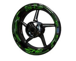 Kawasaki ZH2 Wheel Stickers kit - Plus Design
