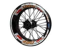 KTM SMR 450 Bull Wheel Stickers kit - Standard Design