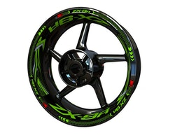 Kawasaki ZX-9R Wheel Stickers kit - Plus Design