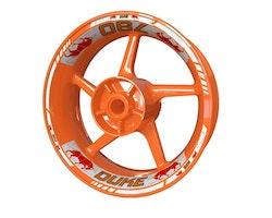 KTM 790 Duke Bull Wheel Stickers kit - Standard Design