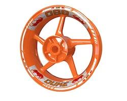 KTM 890 Duke Bull Wheel Stickers kit - Standard Design