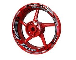 Aprilia Tuono V4 Wheel Stickers kit - Plus Design