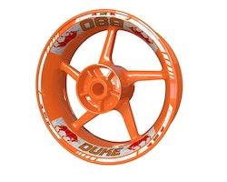 KTM 690 Duke Bull Wheel Stickers kit - Standard Design