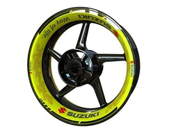Suzuki Wheel Stickers kit - Premium Design