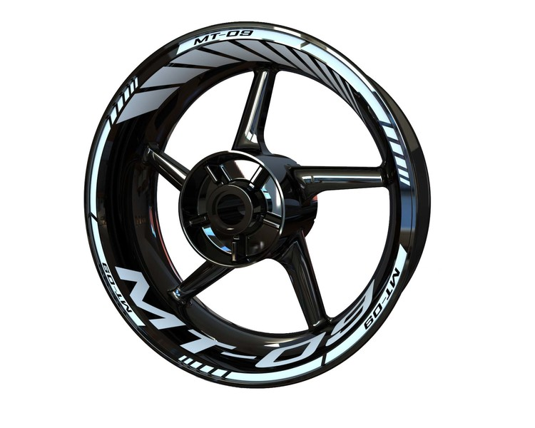 MT-09 Wheel Stickers Standard (Front & Rear - Both Sides Included)