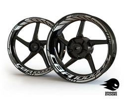 Honda CBR1000RR Wheel Stickers kit - Standard Design
