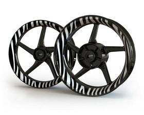 Zebra Wheel Graphics Premium (Front & Rear - Both Sides Included)