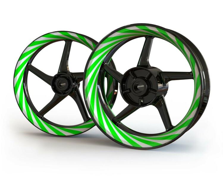 Hypnosis Wheel Stickers kit - Premium Design