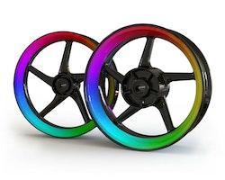 Color Crystal Wheel Stickers kit - Premium Design