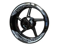 Kawasaki ZX-10R Wheel Stickers kit - 2-Piece Design