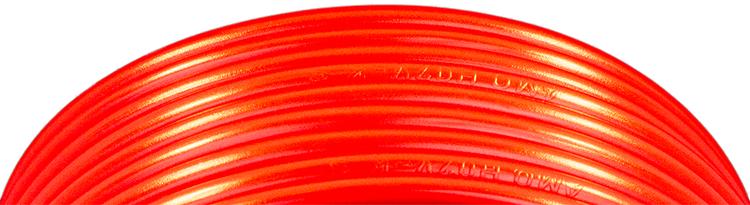 Kabel förtennad PVC 4 mm² Röd