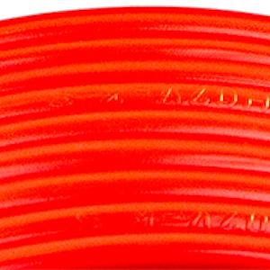 Kabelslattar av förtennad PVC-kabel 6 mm² röd Skyllermarks