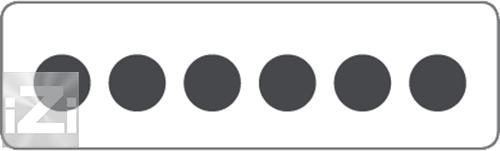 Kopplingsplint 6x50 mm² hålbild Skyllermarks