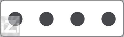 Kopplingsplint 4x50 mm² hålbild Skyllermarks
