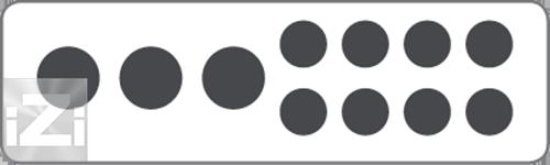 Kopplingsplint 3x50 + 8x16 mm² hålbild Skyllermarks