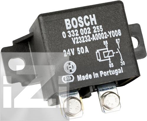 Skiljerelä Bosch 24 V / 50 A