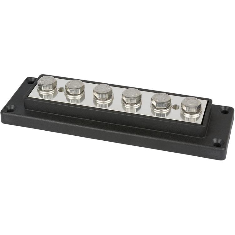 E0300 Kopplingsplint 6x50 mm² svart Skyllermarks