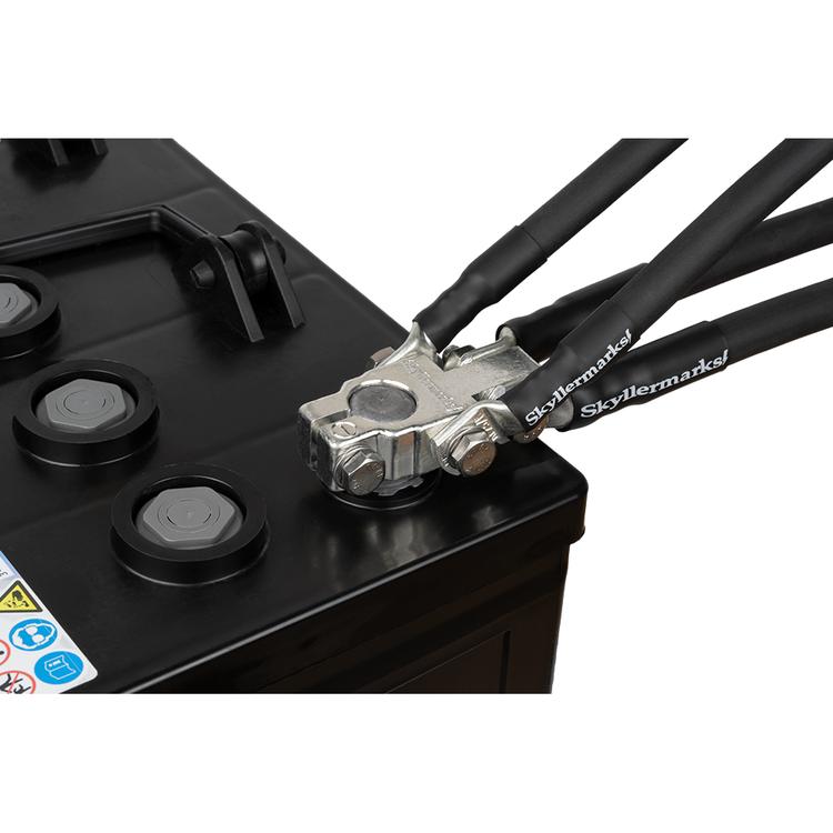 E0101 Polplint (S) 35/50 mm² minus med kablar Skyllermarks