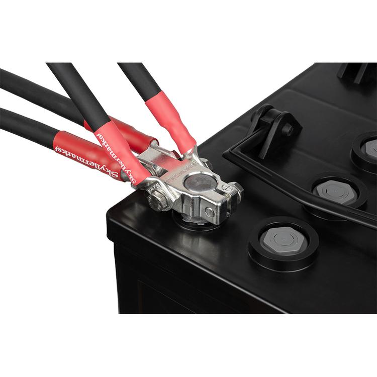 E0141 Polplint (S) 35/50 mm² plus med kablar Skyllermarks