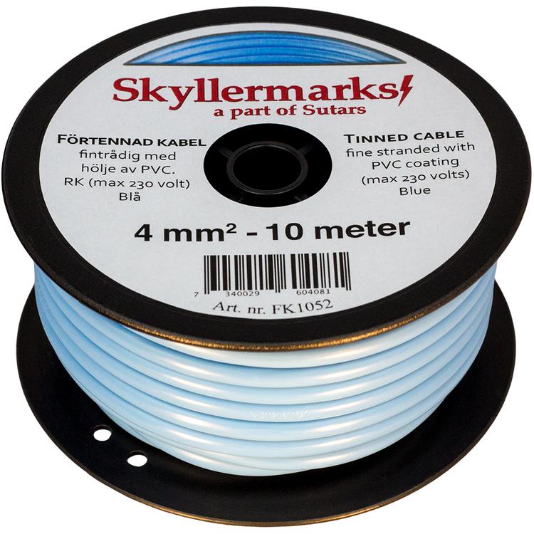 Minirulle Enledad Förtennad blå 4 mm² - 10 m Skyllermarks FK1052