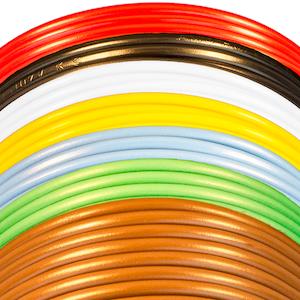 Kabel förtennad PVC 1,5 mm² Skyllermarks