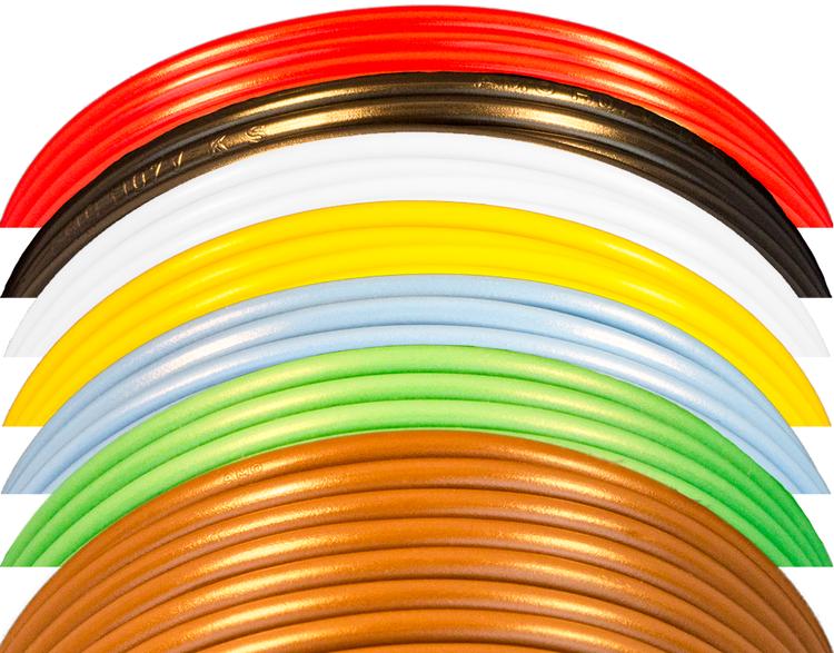 Kabel förtennad 2,5 mm² Skyllermarks FK0200 FK0210 FK0164 FK0167 FK0204 FK0207 FK0214 FK0217