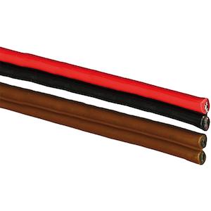 Kabel förtennad PVC tvåledad 2x1,5 mm² Skyllermarks