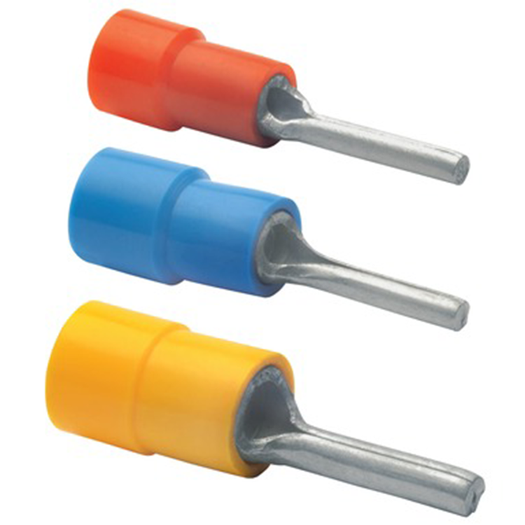 Stiftkabelsko Isolerad, 10-pack