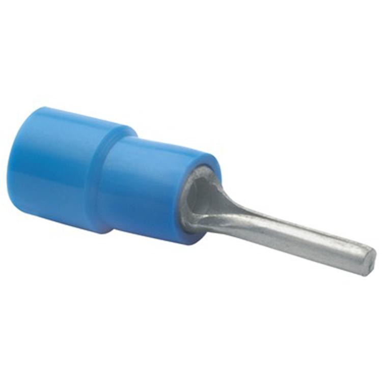 Stiftkabelsko Isolerad blå, 10-pack
