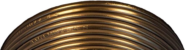 Kabelslatt förtennad PVC 2,5 mm² Svart Skyllermarks