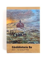 Gårdshistorie Bø, bind 1 (Fra Guvåg til Vinje)
