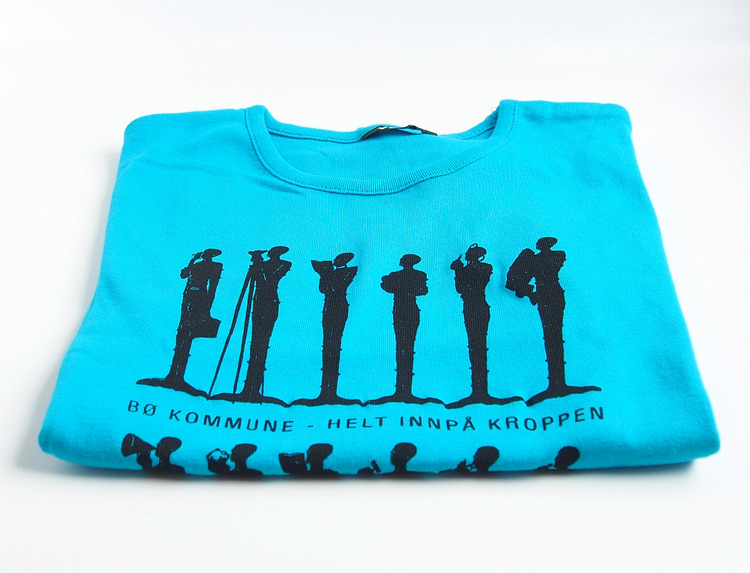 T-skjorte, turkis