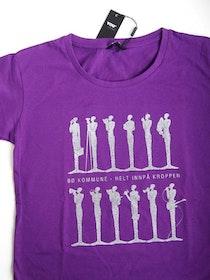 T-skjorte, lilla