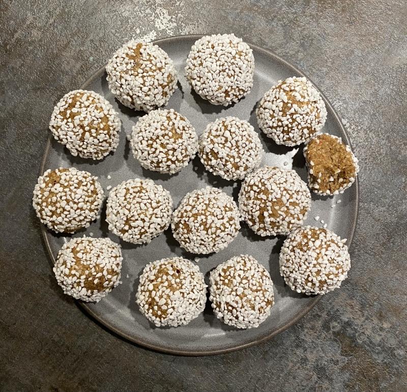 Chokladbollar med saffran